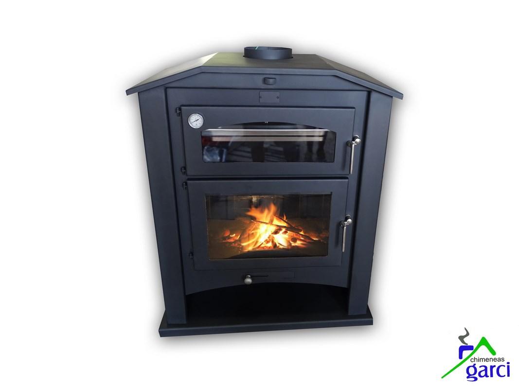 Comprar chimeneas hornos artesanos estufas barbacoas for Modelos estufas a lena